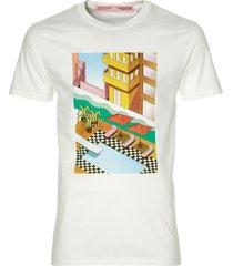scotch & soda t-shirt - slim fit - wit