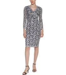 jessica howard glitter lace sheath dress