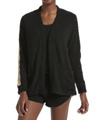 kendall + kylie women's microfleece long sleeve cardigan