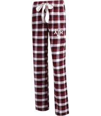 concepts sport women's texas a & m aggies piedmont flannel pajama pants