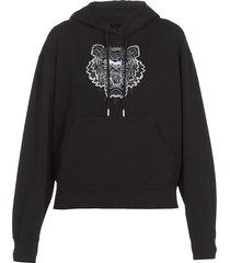 kenzo boxy tiger hoodie