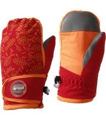 guantes mini snow day b-dry rojo oscuro lippi