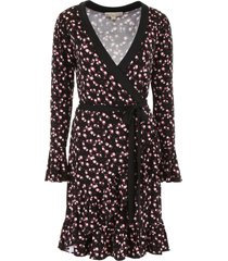 michael michael kors floral printed dress