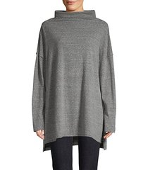 bella vista cowl-neck sweater