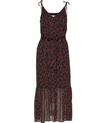 alminagz long dress ma19 knälång klänning multi/mönstrad gestuz