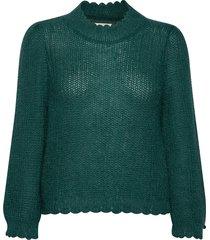 savage sweater gebreide trui groen odd molly