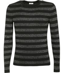 saint laurent striped long sleeved t-shirt