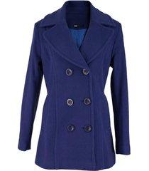 casaco feminino trench coat viena em l㣠batida - azul marinho - azul marinho - feminino - l㣠- dafiti
