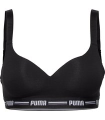 puma iconic padded top 1p hang lingerie bras & tops soft bras svart puma