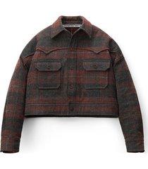 oversized western blouson jacket