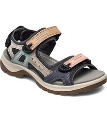 offroad shoes summer shoes flat sandals svart ecco