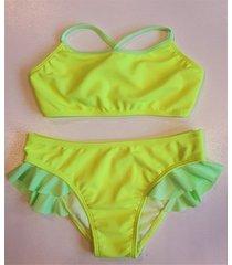 bikini amarilla  stai zitta cardos