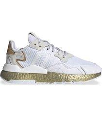 zapatilla blanca adidas originals nite jogger