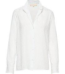 druyat overhemd met lange mouwen wit vanessa bruno