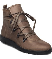 bella shoes boots ankle boots ankle boot - flat brun ecco