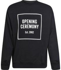 opening ceremony box logo regular sweatshirt