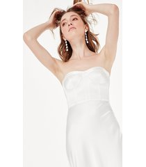 sandrine dress white