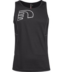 core coolskin singlet t-shirts sleeveless svart newline