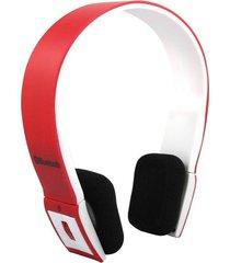 audífonos bluetooth manos libres inalámbricos, bh-23 sin hilos audifonos se divierte el auricular estéreo del auricular para smartphone (rojo)