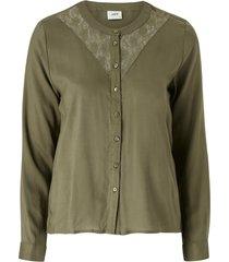 blus jdynappa l/s lace shirt wvn