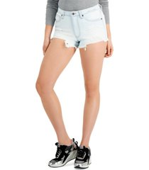 kendall + kylie juniors' high-rise mom shorts