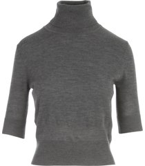 aspesi turtle neck 3/4s sweater