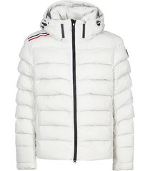 rossignol diagonal irregular down jacket