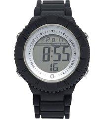 pack reloj  correa adicional azul/negro gorillaz