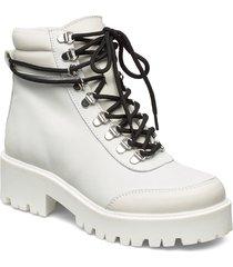 candogz boots ma19 shoes boots ankle boots ankle boots flat heel vit gestuz