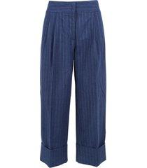 antonio marras cotton trousers