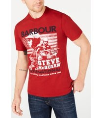 barbour international steve mcqueen men's collage t-shirt, created for macy's