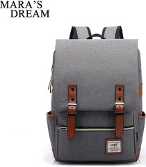 fashion women canvas backpack men oxford travel backpacks retro casual backpacks