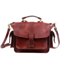 old trend valley breeze leather crossbody bag