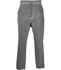 army of me loose fit trousers - grey