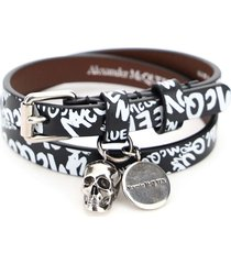 pionier double wrap bracelet with logo