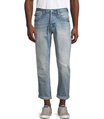 g-star raw men's morry 3d relaxed tapered jeans - vintage - size 31 32