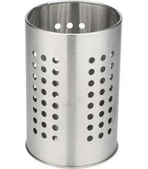 escorredor de talheres em inox 10x17cm - lojas carisma - prata - dafiti