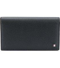 bally press stud wallet - black
