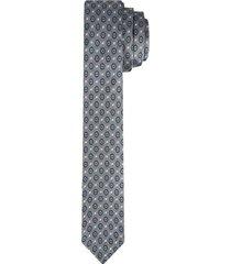 corbata pala ancha en poliéster con textura para hombre 02419