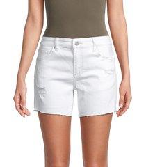joe's jeans women's high-rise denim shorts - brant - size 23 (00)
