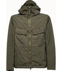c.p company giacca leggera in tessuto riciclato