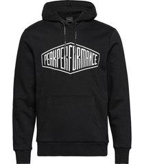 comfy hood hoodie trui zwart peak performance