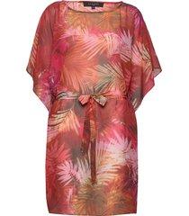 kaftan kort klänning multi/mönstrad ilse jacobsen