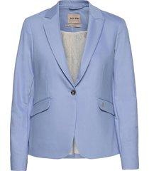 blake night blazer sustainable blazers casual blazers blauw mos mosh