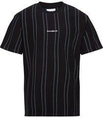 craz soccer tee t-shirts short-sleeved svart woodbird