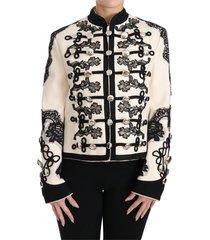 floral baroque jacket