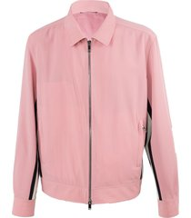 contrasting side stripe jacket