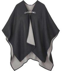 poncho con fibbia (nero) - bpc bonprix collection