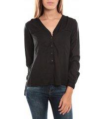 overhemd vero moda horse ls top 836819 noir