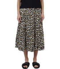 the marc jacobs leopard prairie skirt